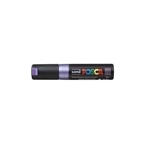 Marcador T.Opaca No Perm. Uni Posca 8,0 (Pc-8k) Violeta Metalico