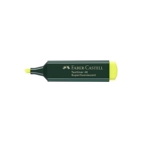 Marcador Fluor Faber-Castell Textliner 48 Amarillo