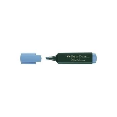 Marcador Fluor Faber-Castell Textliner 48 Azul