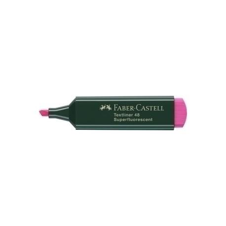 Marcador Fluor Faber-Castell Textliner 48 Rosa