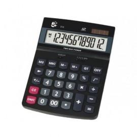 5* Calculadora sobremesa 312 12 dígitos Pantalla grande LCD KC-DX150
