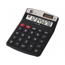 5* Calculadora sobremesa 320 8 dígitos Solar /pilas KC-760