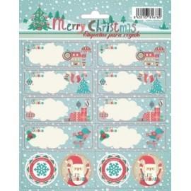 Etiquetas Navidad Erik Aviany
