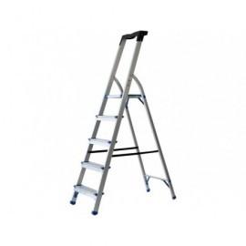 Escalera  5 peldaños Hasta 150 Kg Ligera y segura Ligera y segura