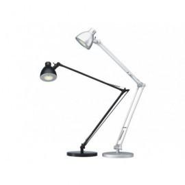 ARCHIVO 2000 Lámpara LED Valencia 4.8W Negro Doble brazo y cabezal ajustable 5058NE