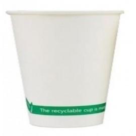 VASOS CARTON BLANCO 4 OZ CAFE 110 ml. BOLSA DE 50 (B03335)