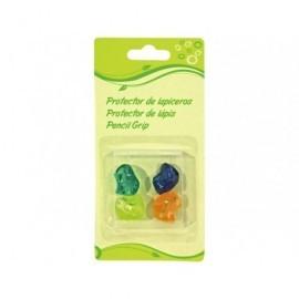 5* Adaptador lapiz Blister 4ud 2x 1.7 cm Colores surtidos 317814
