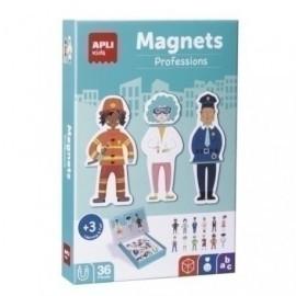 JUEGO MAGNETICO APLI PROFESIONES 36 PIEZAS