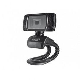 TRUST Webcam Trino HD 8MPX Usb micrófono negro 18679