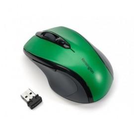 KENSINGTON Ratón inalámbrico Pro Fit tamaño mediano óptico usb verde K72424WW