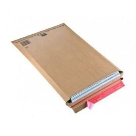 COLOMPAC Bolsas Paquete 20 ud 340X500X50 Carton extra A3 Tira siliconada Apertura superior CP01008
