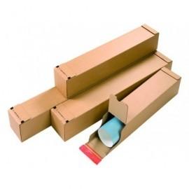 COLOMPAC Pack 10 cajas tubos envíos 430x108x108 A2 cartón CP07202