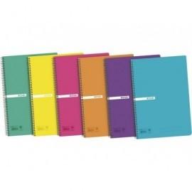 ELBA Cuaderno 80h Folio cuadrícula 4x4 Surtido 400042280