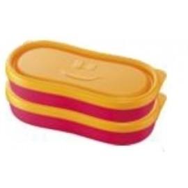TUPPER MAPED SNACK BOX CONCEPT KIDS ROSA PACK DE 2
