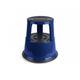 Taburete  2 peldaños Metálico Azul 440x240mm