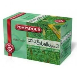 POMPADOUR Infusiones Cuerpo sano Cola de caballo Pack 20 ud Bolsas 40109