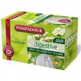 POMPADOUR Infusiones Digestive Plus Caja 20 ud Bolsas 40035