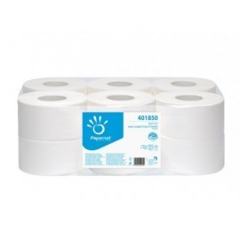 PAPERNET Papel higienico Minijumbo Pack 12 rollos 401850
