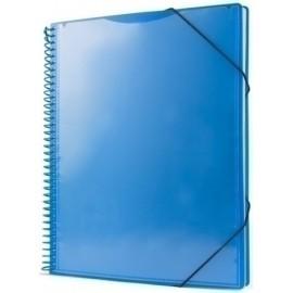 Carpeta Fundas (Tarifario) Pryse Pp Personalizable A4 60 F. Azul