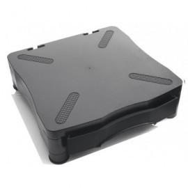 5* Soporte para monitor con cajón negro 369D