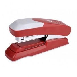 5* Grapadora Flat Clinch Trend Line 30 Hojas Roja Carga completa