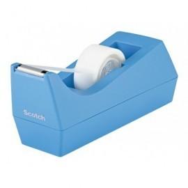 SCOTCH Portarrollos  C38 Azul para Rollo 33 m 70005246692