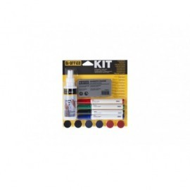 BI-OFFICE Kit Pizarra blanca KT1010
