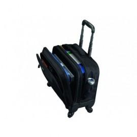 LIGHTPAK Trolley Start para portátil de 15'' con 4 ruedas negro 46116