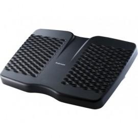 FELLOWES Reposapiés Refresh ventilación ergonómico negro 8066001