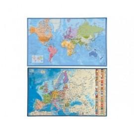 VIQUEL VADE PVC 595X365MM Surtido (6 MUNDO - 6 EUROPA) 092453-05