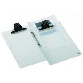 CARCHIVO Placa portanotas Bullfog 350x235 Con Pinza Polipropileno Translucido TR.2-2222KB