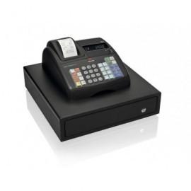 OLIVETTI Caja registradora ECR 7700 LD Eco Plus alfanumérica térmica/VFD/negra B4867001