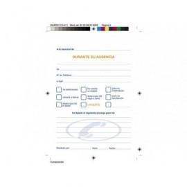 MARINO Talonario respuestas telefonicas 100 H 105X150 Catalan 62/1C