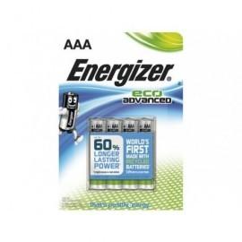 ENERGIZER BLISTER 4 PILAS ECO ADVANCE LR03-E92 AAA E300128100