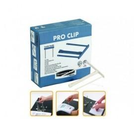 FELLOWES CAJA 100 FASTENER DE PLASTICO PARA ARCHIVO BANKERS BOX CLIP DE 85MM EN BLANCO REF.00895