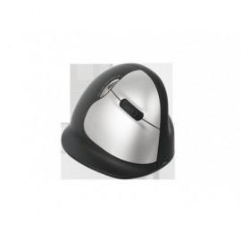 R-GO TOOLS Ratón inalámbrico Vertical HE tamaño grande diestro usb negro/gris RGOHELAWL