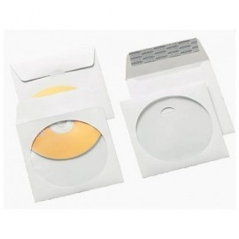 GALLERY Pack de 50 sobres 125x125 cd offset blanco 100 gr 949381
