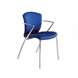 ROCADA Silla Confidente Diseño Azul Rd-966/3