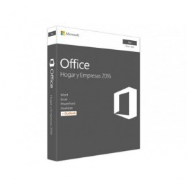 MICROSOFT Office Hogar y Empresas 2016 para MAC ESD permanente (1PC) W6F-00627