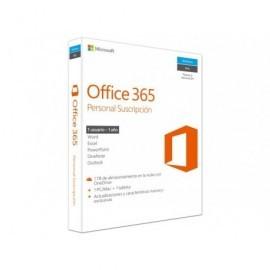 MICROSOFT Office 365 Personal 32/64-bit 1 tableta + 1 PC/Mac (1 usuario) 1 año suscripción QQ2-00012