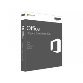 MICROSOFT Office Hogar y Estudiantes 2016 MAC ESD permanente (1PC)  GZA-00550