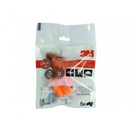 3M PACK DE 5 PARES DE TAPON DESECHABLE MOLDEABLE MODELO 100C REF.XA004837911