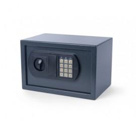 Caj.seg.panel electrónico,opción códig.maestro,2 llaves emer.y pilas,gris oscuro 8040391