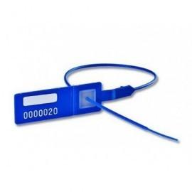 Pack de 100 precintos seguridad 300 mm numerados cola redonda PSGP414S