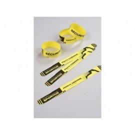AVERY C.48 pulsera amarill.tu mismo puedes personalizar,resiste al agua,suciedad,etc,265x25mm L4900Y