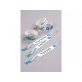 AVERY C.48 pulsera blca. tu mismo puedes personalizar,resiste al agua,suciedad,etc,265x25mm L4900W