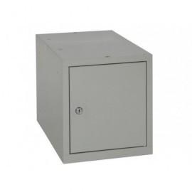 Taquilla multibox compac y modulable gris MULTI450S2_G1G1