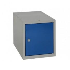 Taquilla multibox compac y modulable azul MULTI450S2_G1B1