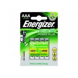 ENERGIZER  Rechargeable Power Plus AAA x 4 700 mAH E300626600