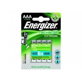 ENERGIZER Blister4 Pilas Recargables HR03 Extreme AAA 800 E300624400